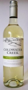 ColdWater  Creek Sauvignon Blanc case of 6 or £5.99 per bottle
